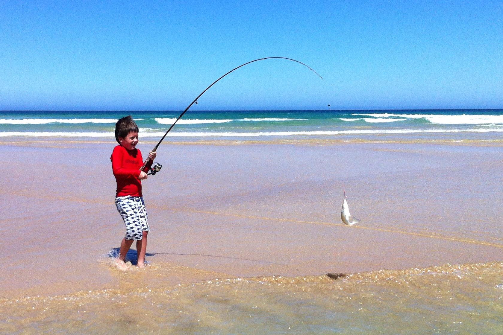 active holiday fishing